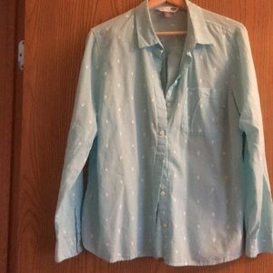 Button down woman's blouse